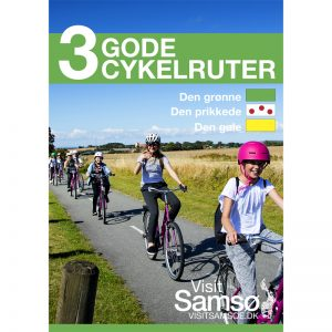 VisitSamsø folder 3 Gode Cykelruter
