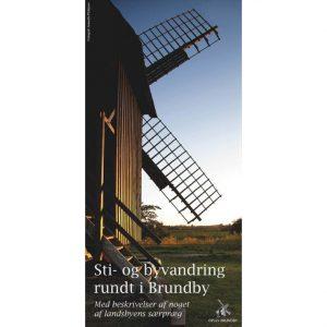 Folder over sti- og byvandring i Brundby på Samsø