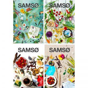 Forsideplakater Visitsamsø