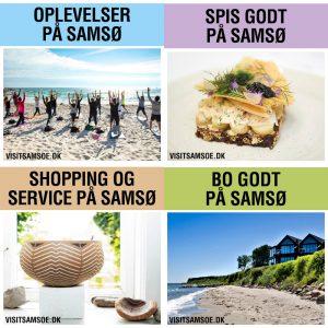 VisitSamsø miniguides 2018